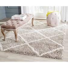 safavieh gray and white wool rugs for elegant living room floor decoration