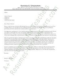... Sample Resume Cover Letter For Teachers intended for Sample Resume  Cover Letter For Teachers ...