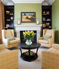 fireplace arrangament view in gallery chairs only in this small living room