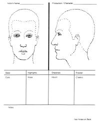 costume make up design theatrical makeup templates