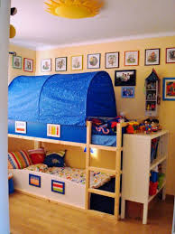 Toddler bunk beds the top bed is from ikea I think is as big as a