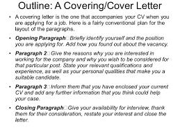 4 sentence cover letter good closing sentences for a resume