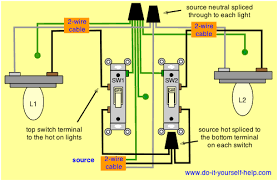 same two switch wiring diagram lights wiring diagrams best two switches control two lights diy home electrical wiring light two switches one light diagram same two switch wiring diagram lights
