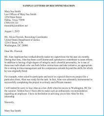 Internship Reference Recommendation Letters 8 Best Samples