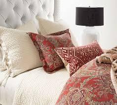 ine paisley organic cotton duvet