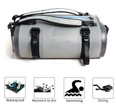 <b>Large 40L 60L</b> 90L Motorcycle Tail Bag Waterproof Backpack Dry ...