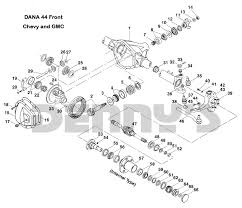 Dana 44 Front Axle Shaft Length Chart Dana 44 Front Chevy