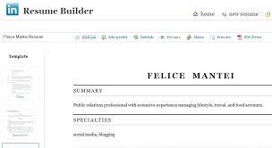 Linkedin Resume Builder Techtrontechnologies Com