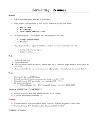 Here s What a Mid Level Professional s Resume Should Look Like Classic B W