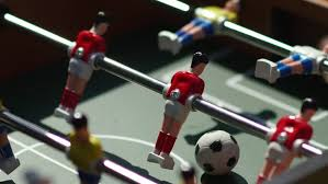 table football. table soccer. foosball. invisible playing football. unknown the game players. figures for of football