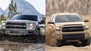 2017 Ford F-150 Raptor vs 2016 Toyota Tundra - YouTube