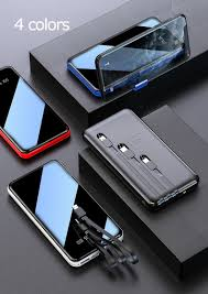 Sạc Dự Phòng 50000mah Chính Hãng Cục Sạc Nhanh Dự Phòng Bao Gồm Ba Cáp Sạc  Tích Hợp For Xiaomi Iphone | - Hazomi.com - Mua Sắm Trực Tuyến Số 1 Việt Nam