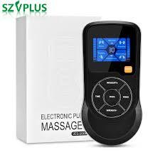 Thông minh Cơ Electrostimulator VẠN EMS vật lý trị liệu Giọng Nói Massage 6  chế độ 15 cường độ giảm đau USB Giảm Cân Giảm Béo|Relaxation Treatments