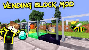 Vending Machine Mod 111 2 Custom Vending Block Mod For Minecraft 4848484848484848 MinecraftSix