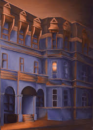 Welcome Home - A Light in the Window Painting by Duane Gordon