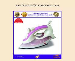 ⭐Bàn Ủi Hơi Nước Kim Cương T-620 (Bảo Hành 12 Tháng): Mua bán trực tuyến Bàn  ủi với giá rẻ