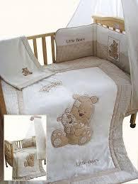 snuggle baby little teddy 5 piece bedding set