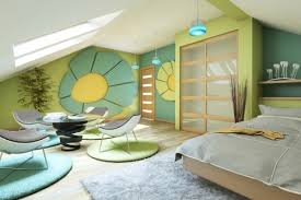 bedroom colors 2012. nature-themed bedroom decor with green and white paint colors 2012