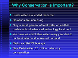 water conservation 8 why conservation is important