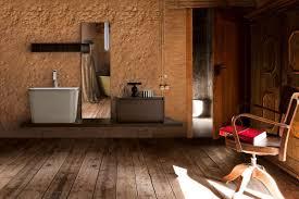 Piano lavabo in legno massello idea n 3. arredo bagno moderno