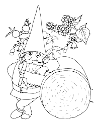 Small Picture Gnome Coloring Pages Coloringpages1001 Coloring Home