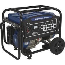 Powerhorse Portable Generator 9000 Surge Watts 7250 Rated Watts