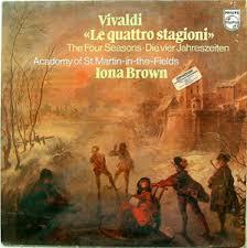 I. BROWN & St.MARTIN FIELDS Philips 9500 717 VIVALDI LP - khrisrecords