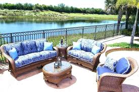 outdoor furniture seat cushions coffee table