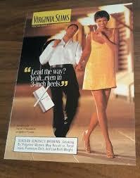 1974-VIRIGINIA SLIMS CIGARETTES`AVIS McCoy Staten Island-Vintage Ad - $5.60  | PicClick