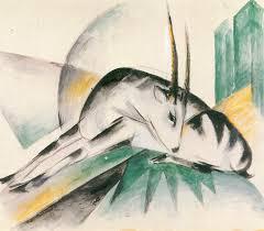 Marc, Franz: Antilope (Gazelle) - Zeno.org