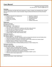 Warehouse Associate Resume Sample Warehouse Associate Resume Production Traditional Receiving Sample 22