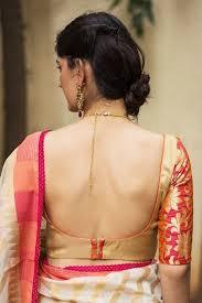 Pin by Samiha Khan on ᴇᴛʜɴɪᴄ | ʙʟᴏᴜsᴇs | Backless blouse designs, Blouse  designs, Blouse designs indian