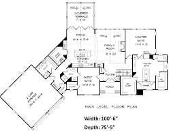 bentwater house plan blueprints architecural drawings home Beach House Plans Hawaii bentwater ranch house plan first floor hawaiian style beach house plans