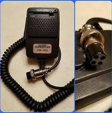 cb echo mic superstar dm 452 cb radio echo power microphone cobra galaxy uniden connex 4 pin