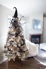 vintage decor tree diy bats on fireplace