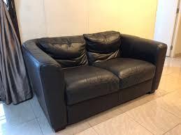 2 seater real leather sofa furniture sofas on carou