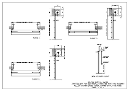 garage door cad drawings roller garage door cad details wageuzi