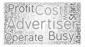 単語クラウド コンセプト テキスト背景をお金のない家庭から広告代理店を開始するには方法