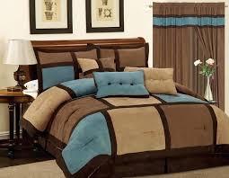 brown and blue king size comforter sets image of brown comforter set king