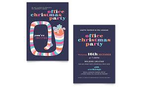 Christmas Party Invitation Template Word Publisher Custom Invitation Templates Word
