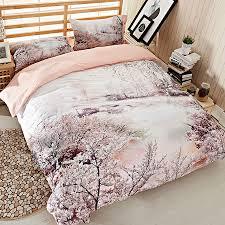 soft bedding set queen size duvet cover pillowcases satin bed linen 100 egyptian