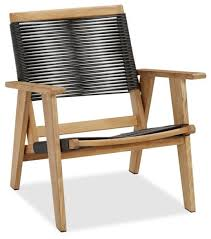 outdoor teak chairs. Madera Teak Rope Armchair Modern Outdoor Lounge Chairs Furniture