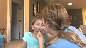 kid old age makeup
