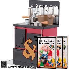 Bundle Smoking Stove Kitchen Stove Red Black Plus Three Packs Of Incense