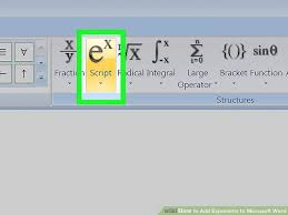 image titled add exponents to microsoft word step 10