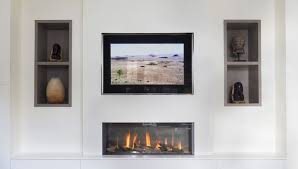 in wall television image nexus installing television over fireplacemounting