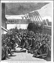 john harris on the illegal trans atlantic slave trade the american slaver wildfire captured near 510 africans in 1860 90 captives