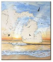 Paintings On Nautical Charts Art On The Water Nautical Chart Paintings By Salina Kalnins