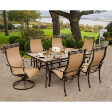 clearance patio sets 7 piece outdoor dining set clearance closeout patio furniture