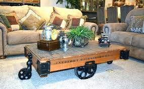 industrial cart coffee table s australia with storage antique factory tables toronto